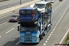 Volvo FM12 380 6x2 Car Transporter - P2 ECM - ECM - M1 J10 Luton - Steven Gray - IMG_7055