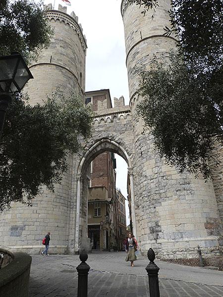vieille porte d'entrée de la ville