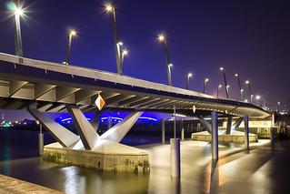 BluePort: Baakenhafenbrücke