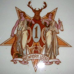 Elks Lodge No. 1, New York City, NY (Crest/Coat Of Arms)