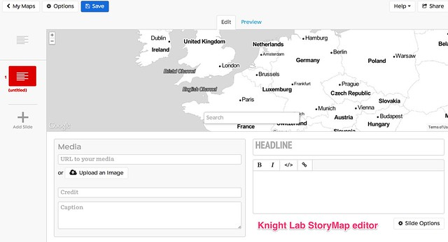 Seven Ways to Create a Storymap | School of Data - Evidence