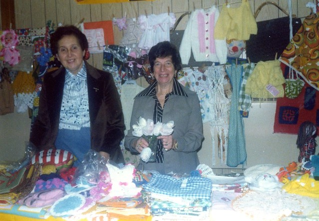 Fanny and Anne Zilbert in the Crafts Department