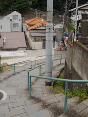 坂と階段 slope & stairs