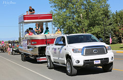 Pontoon Boat In The Parade