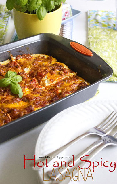 Hot and Spicy Lasagna