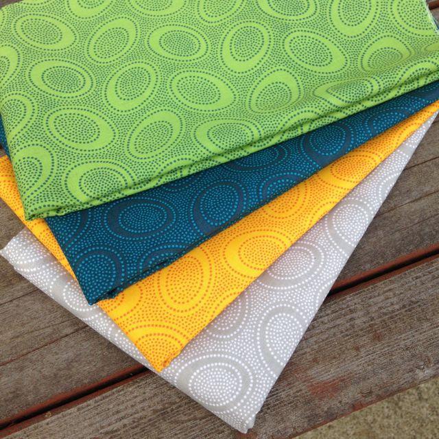 aboriginal dot fabrics