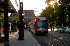 TRAX Green Line at Arena