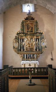 Altertavlen i Byneset kirke (1980)