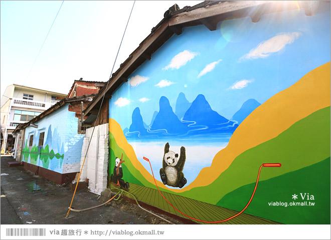 【雲林熊貓村】斗南鎮石龜熊貓村~最新!超萌又生動的立體3D畫彩繪村再一彈!28