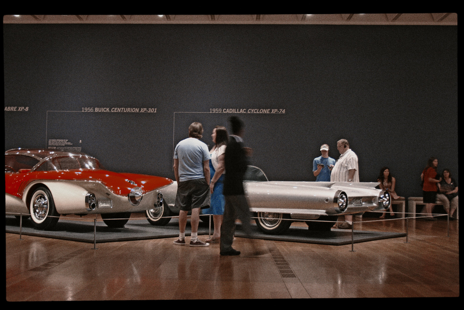 At the Dream Cars Exhibit, High Museum of Art