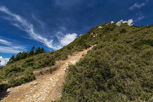 mountain clouds trekking hiking taiwan climbing 台灣 健行 登山 台東縣 登山健行 哭坡 海端鄉 向陽北峰 高海拔山區 嘉明湖國家步道