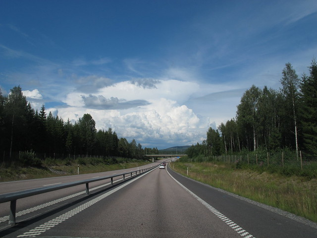 saturday, towards umeå