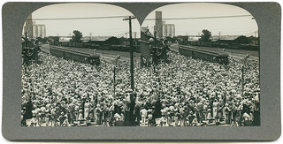 Wichita Falls, Texas, welcomes President Roosevelt