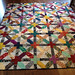 X and Plus Quilt by MoonlitStitches