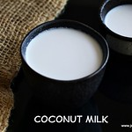 Home made coconut milk