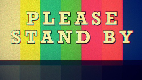 Please Stand By button