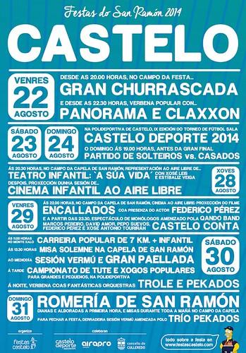 Culleredo 2014 - Festas de Castelo - cartel 1