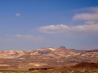 Moon over the Desert - Lua Sobre o Deserto