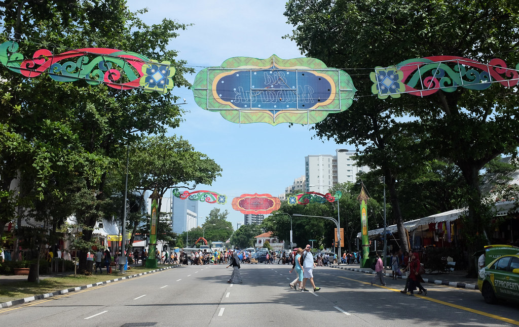 Geylang Serai decor (daytime)