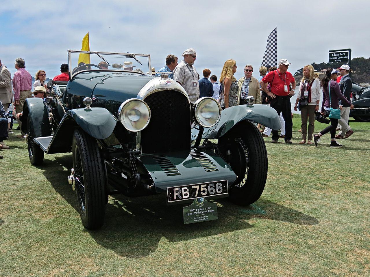 Pebble Beach 2014-1925 Bentley 3 Litre