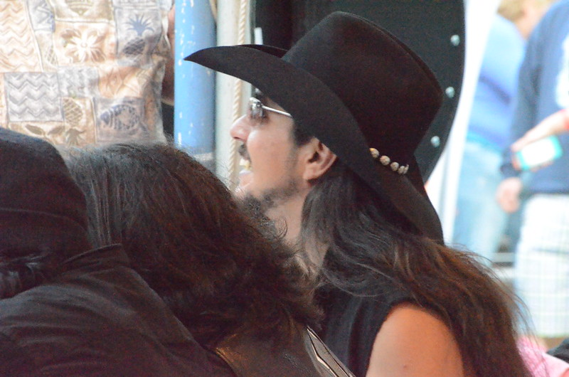 Seen at the Safeway Waterfront Blues Festival, No. 17, July 3, 2014 - a bit more Los Lonely Boys