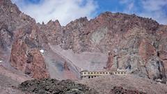 Stacja meteo (Bethlemi Hut) na 3680m.