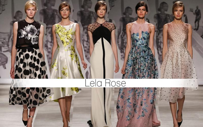NewYork fashion week 2014 | Lela Rose