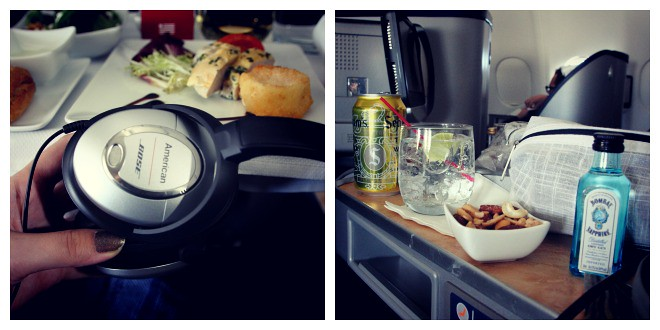 US Airways International Business Class