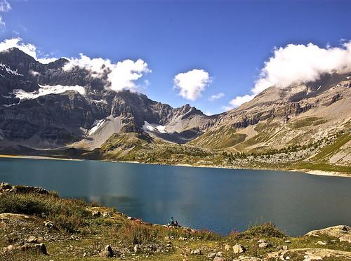 Salanfe lake