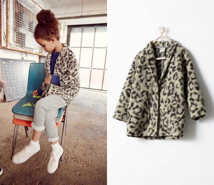 abrigo zara leopardo