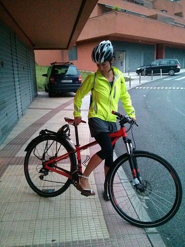 Vuelta a la normalidad y al trabajo en bicicleta o andando. Beneficios