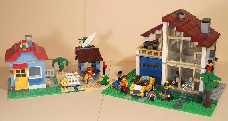 Review Of 31012 Creator Family House Lego Town Eurobricks Forums