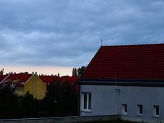 Felhős táj