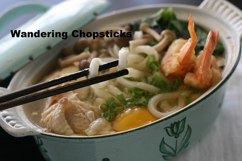 Nabeyaki Udon (Japanese Hot Pot Thick Noodle Soup) 14