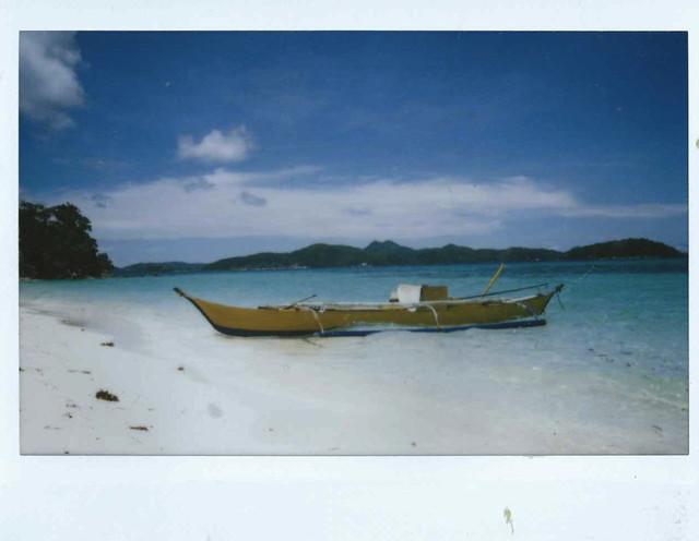 boat, malcapuya island