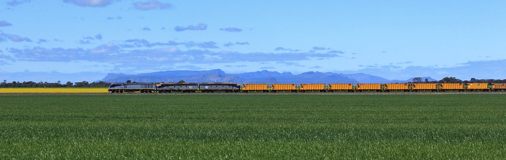 EL53 S300 and S311 pass their way through Spring crops at Dooen by bukk05
