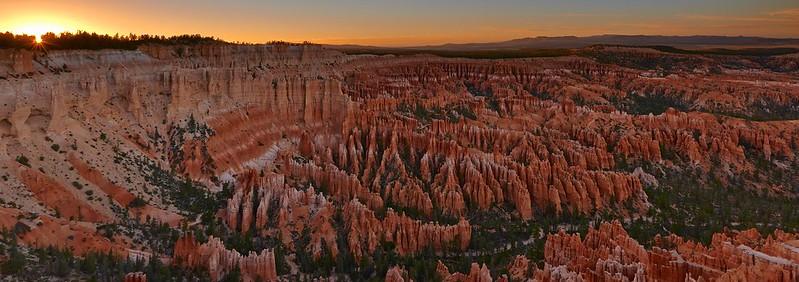 Sunset - Bryce Canyon National Park