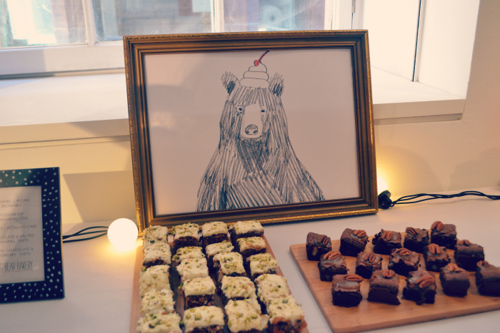 Glasgow wedding collective cupcakes