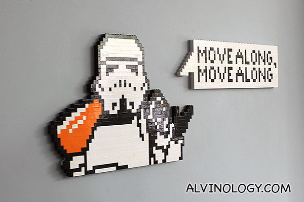 Cute LEGO signboard