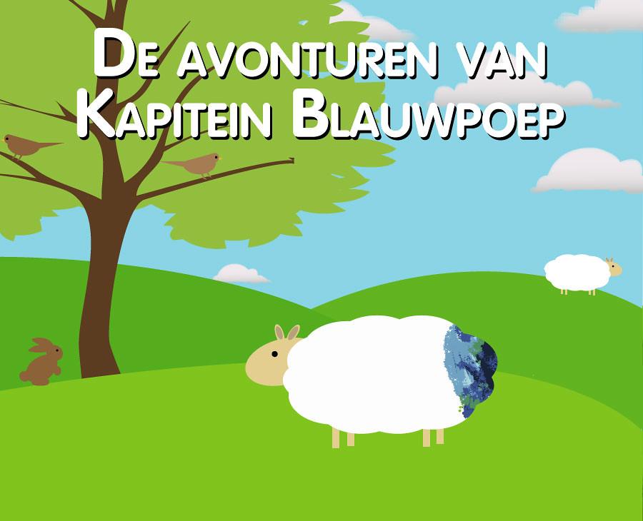 Book cover Kapitein Blauwpoep