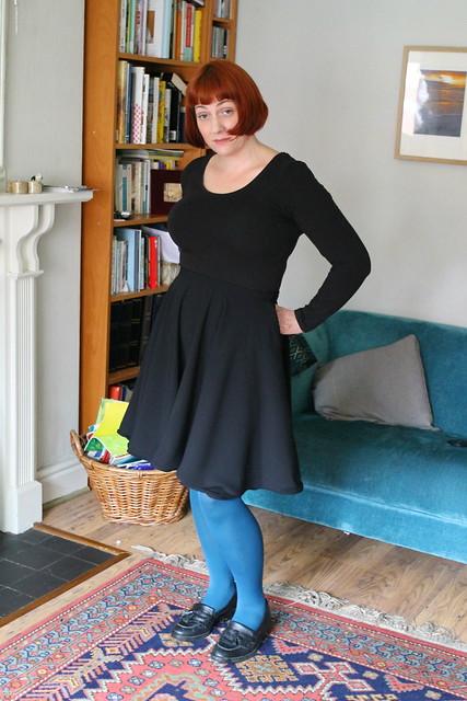 black skirt 2