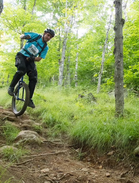 Downhill competition, Mont Tremblant