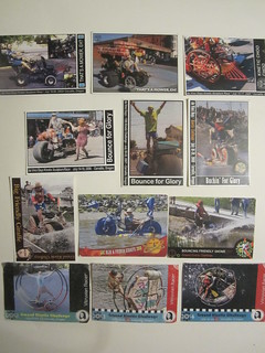 My 12 years A Slave... to Kinetic Sculpture Racing.. & here are my team trading cards
