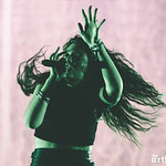 Lorde // Boston Calling photographed by Chad Kamenshine
