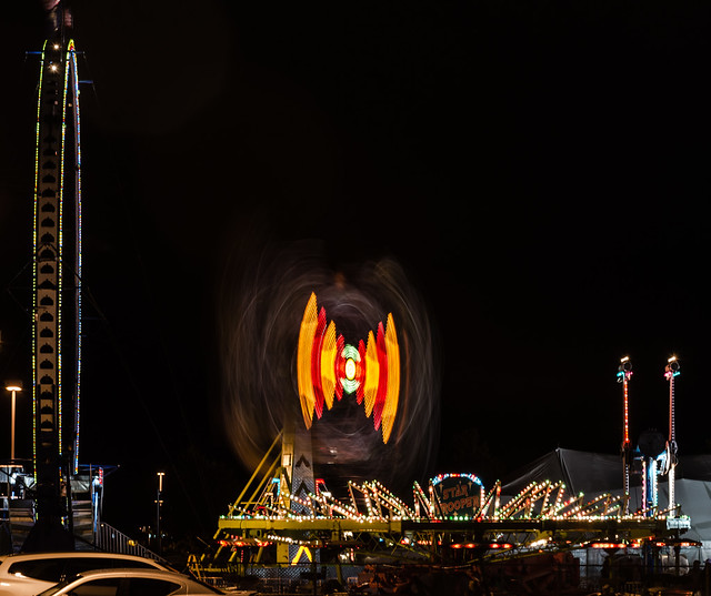 Carnival Rides at Night 2