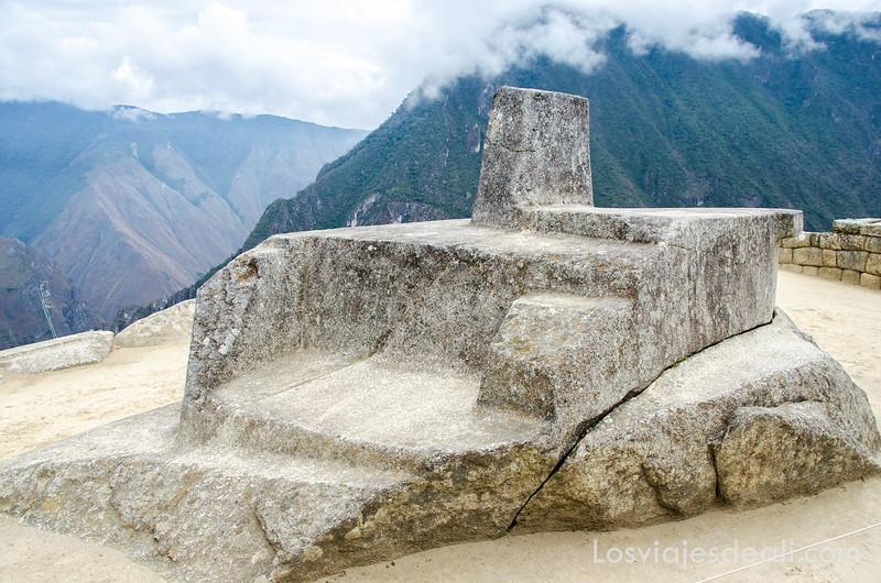 intihuatana de Machu Picchu