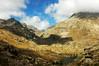 Vue sur le lac mouton, Bego en arrière plan