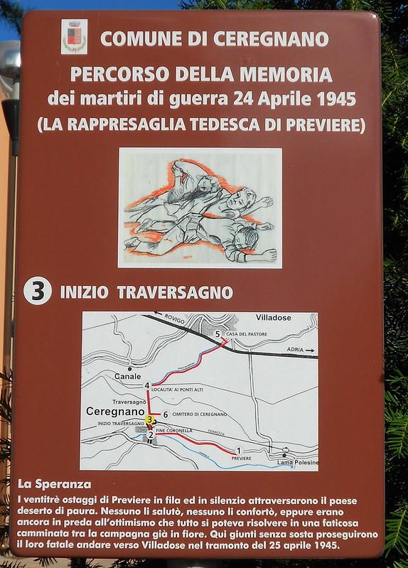 rappresaglia tedesca di Previere, martiri di guerra, 25 aprile 1945, Ceregnano, n 3