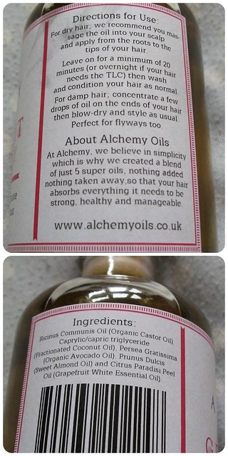Alchemy Oil Label