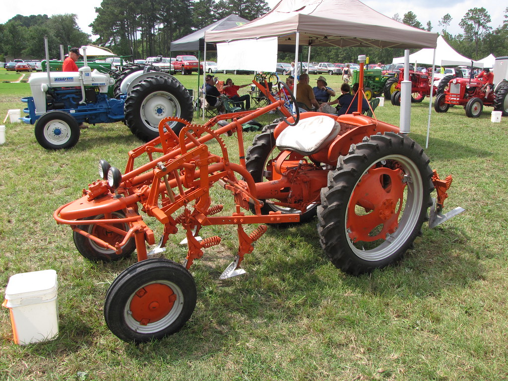 F Be F B on Allis Chalmers Rear Engine Tractor